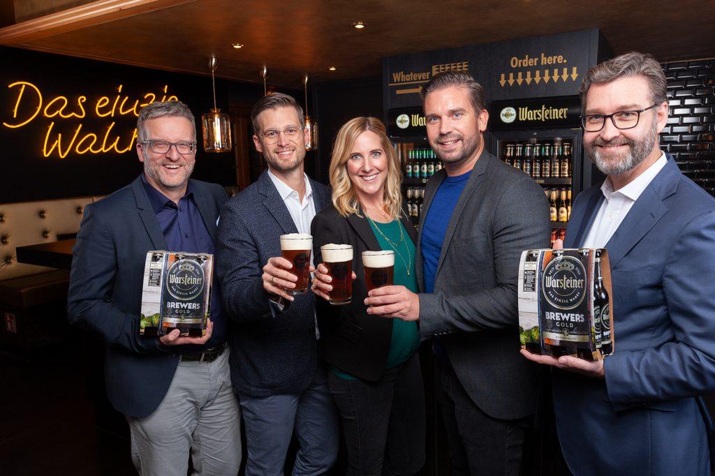 Warsteiner Brewers Gold_Gruppenbild